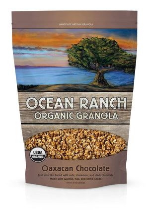 Ocean Ranch Organics Oaxacan Chocolate Multi-Grain Organic Granola - Case of 6 Ocean Ranch Organics