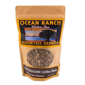 Ocean Ranch Organics Dark Chocolate Coffee Bean Gluten Free Granola - Case of 6 Ocean Ranch Organics