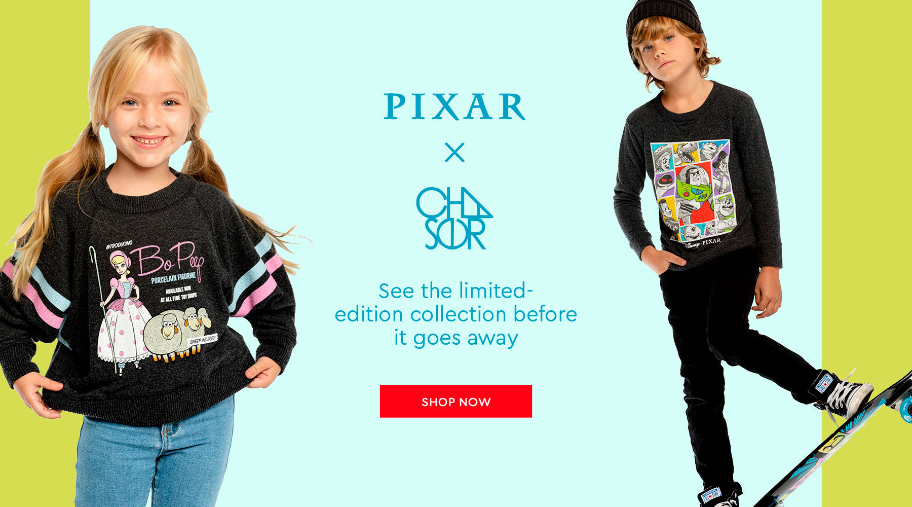 CHASER X PIXAR COLLECTION