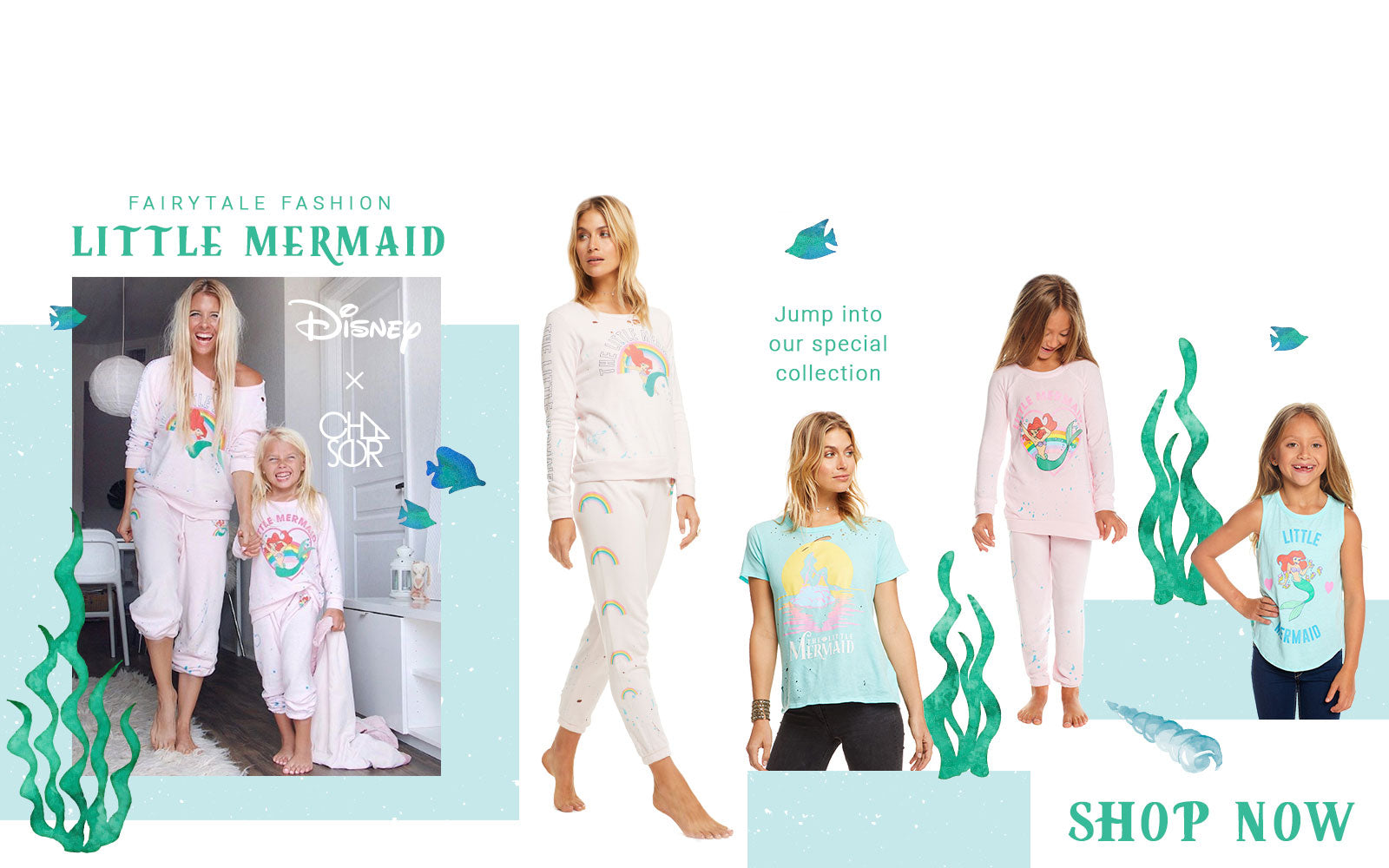Disneys the Little Mermaid collection by Chaser