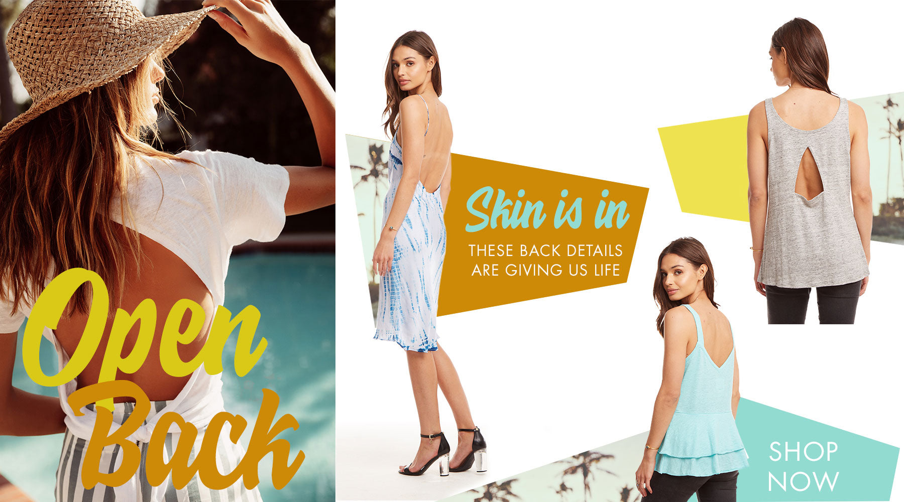 Chaser's Summer 2019 Open Back Details are giving us Life
