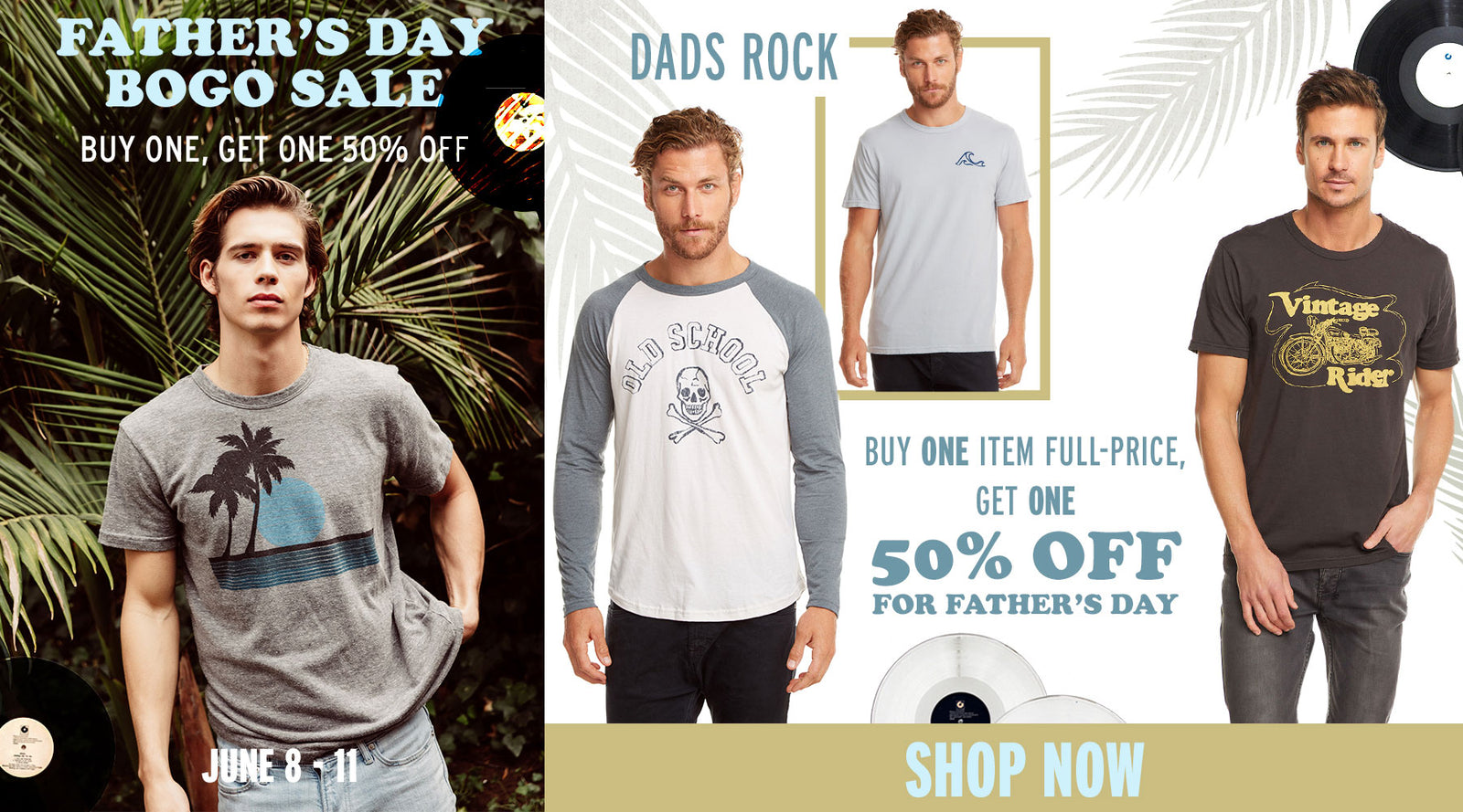 0c7e5e4ad Buy one, get one for 50% off! Get it in time for Father's