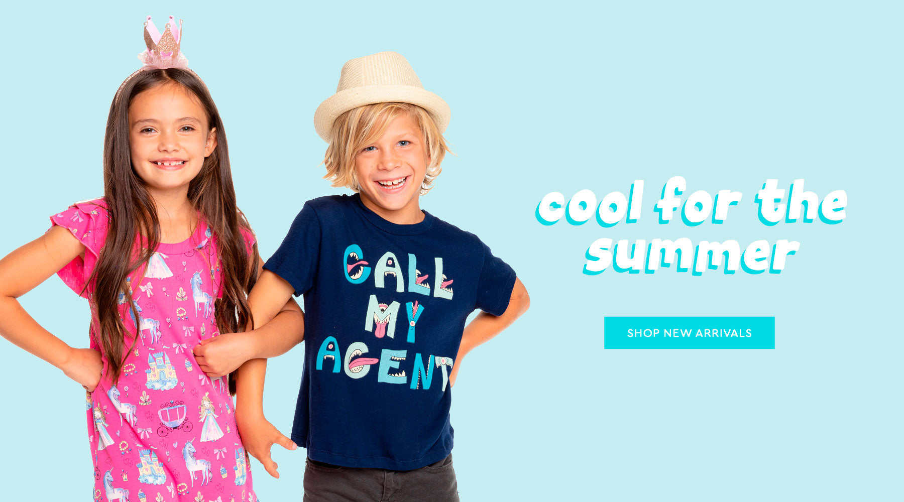 Peep 👀 new arrivals for kids: graphics, tees, tanks, loungewear, dresses & more in our signature, super-soft fabrics