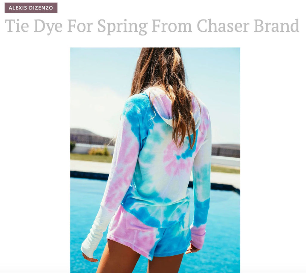 Blog by Alexis Dizenzo featuring Chaser
