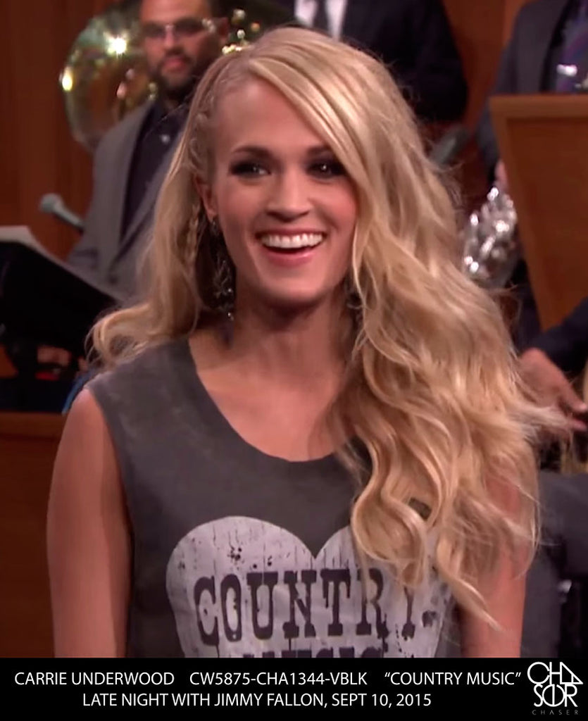 Country Music Star Carrie Underwood in Chaser!