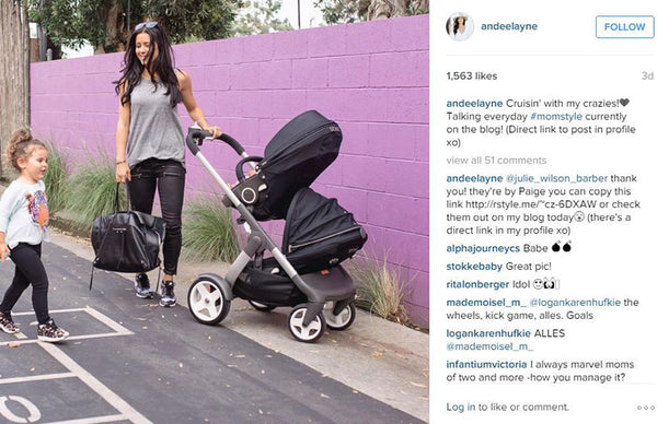 Blogger Andeelayne has her daughter in Chaser