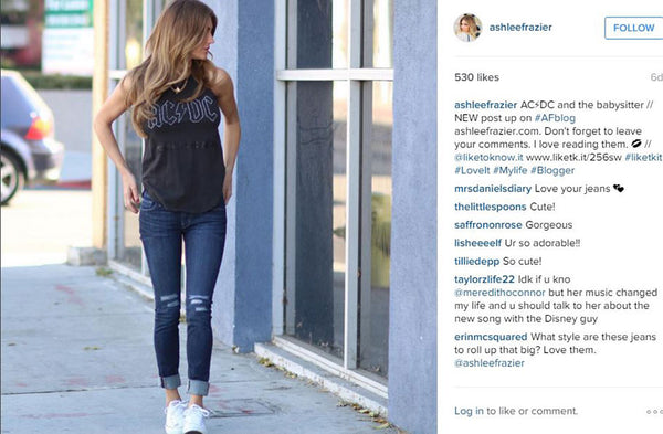 Fashion Blogger Ashlee Frazier in Chaser Brand