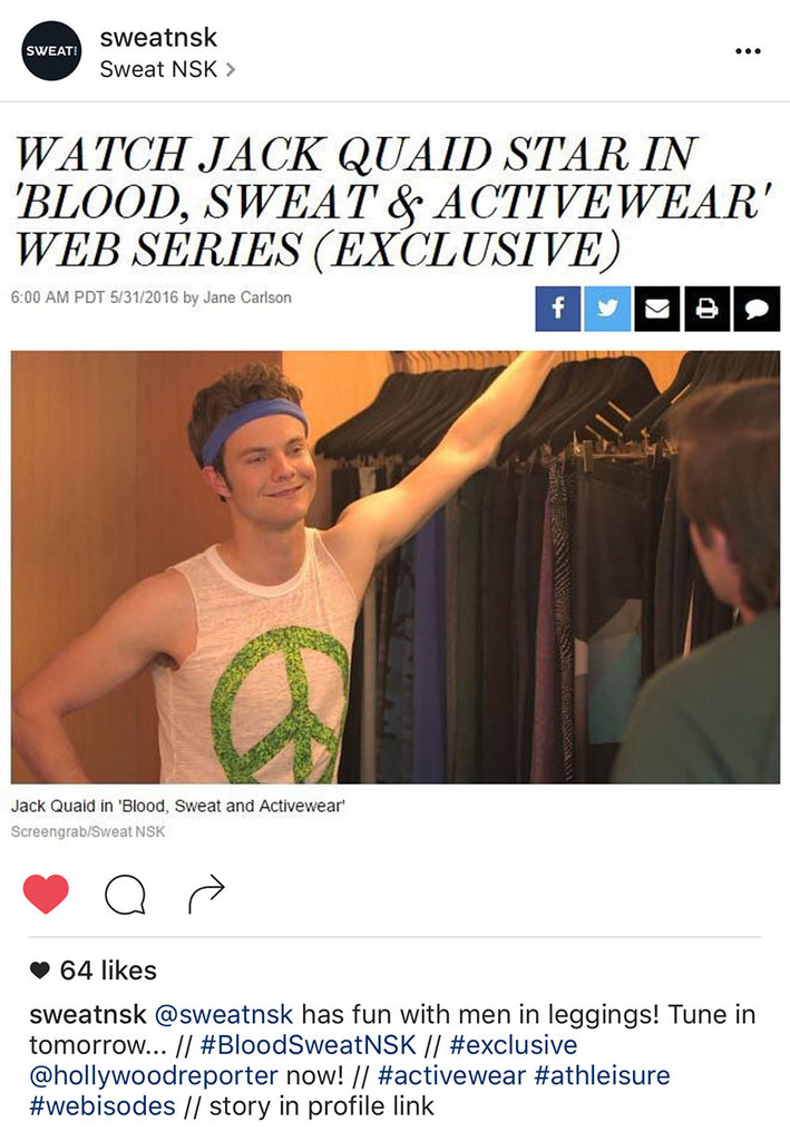 Jack Quaid in Chaser Brand