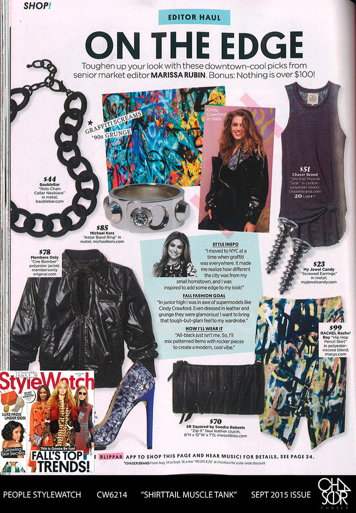 People Stylewatch features Chaser!