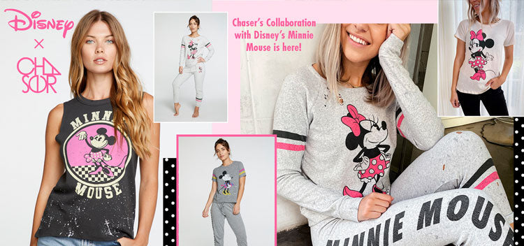Chaser's Collaboration with Disney's Minnie Mouse is Here!