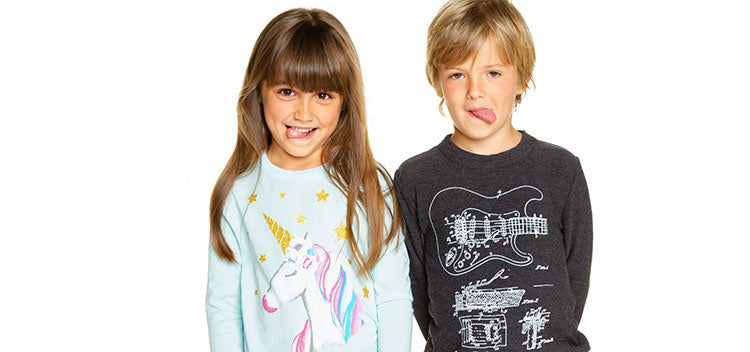 Kids from Chaser's latest Collection
