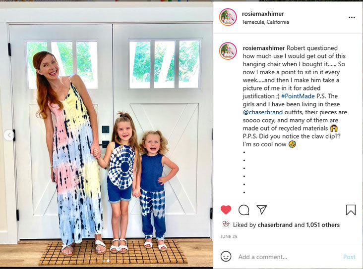 Mommy and Me blogger Roxie Maxhimer Instagram