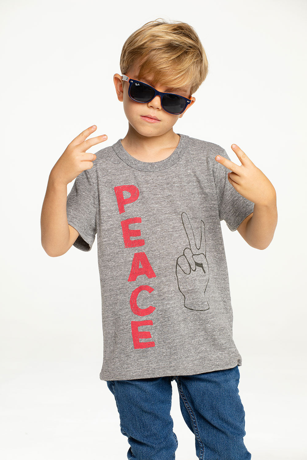 Peace Fingers BOYS - chaserbrand