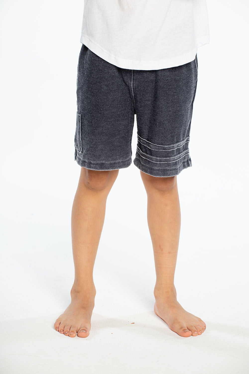 Cozy Knit Cargo Shorts W/ Strappings BOYS chaserbrand4.myshopify.com