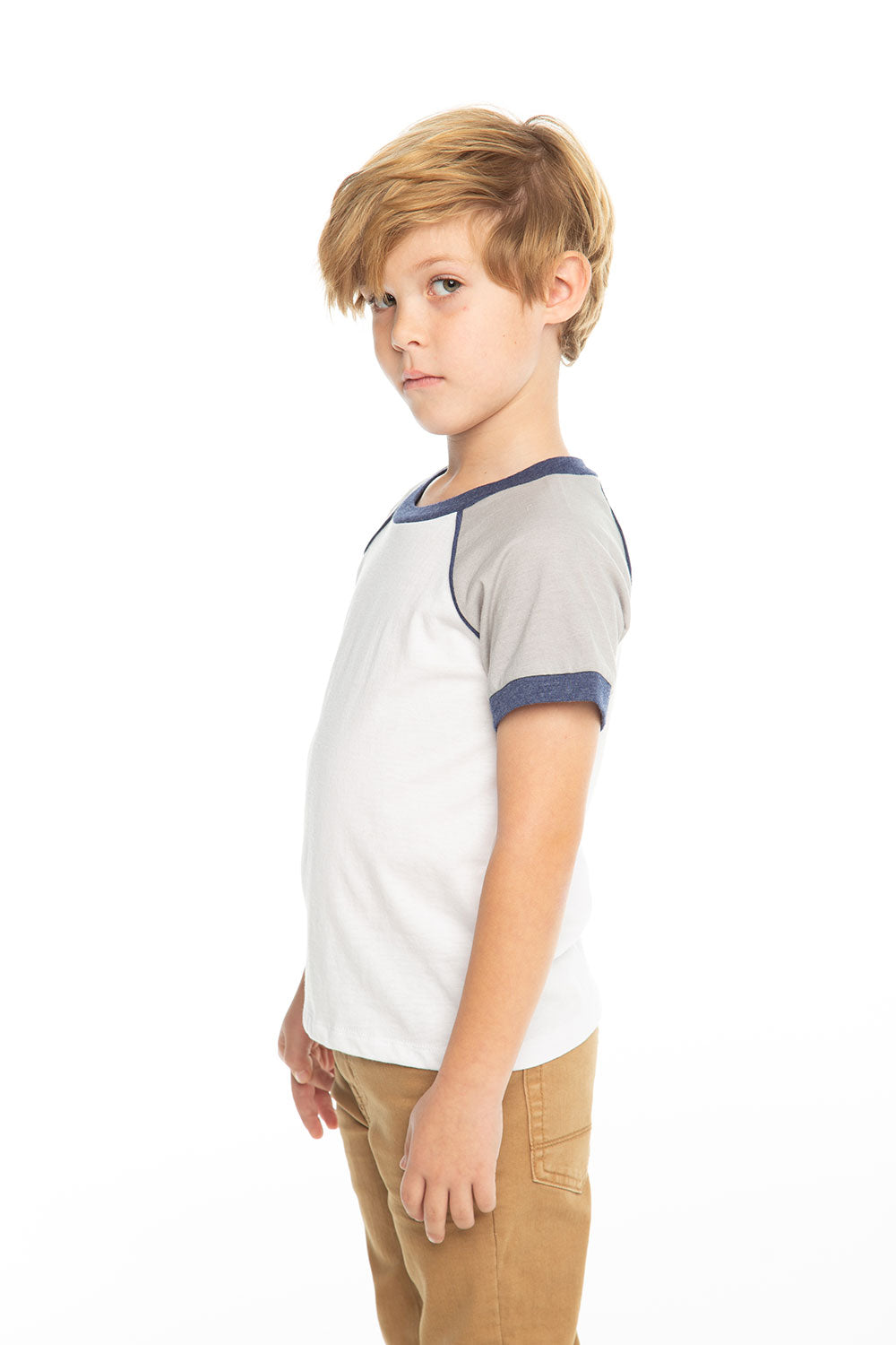 Boys Blocked Jersey Classic S/S Raglan Tee BOYS chaserbrand4.myshopify.com