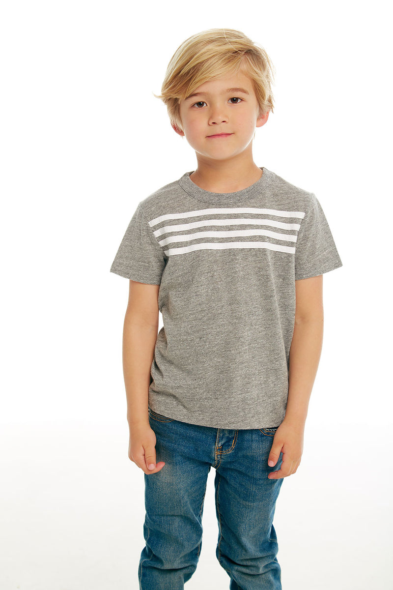 Boys Triblend Jersey Short Sleeve Tee with Strappings, BOYS, chaserbrand.com,chaser clothing,chaser apparel,chaser los angeles