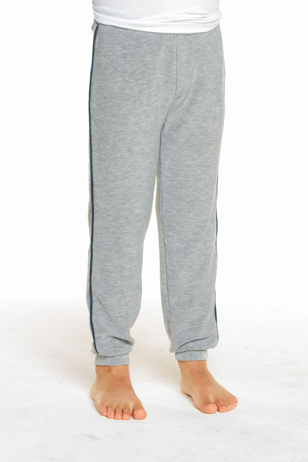 Boys Cozy Knit Contrast Piping Lounge Pant BOYS chaserbrand4.myshopify.com