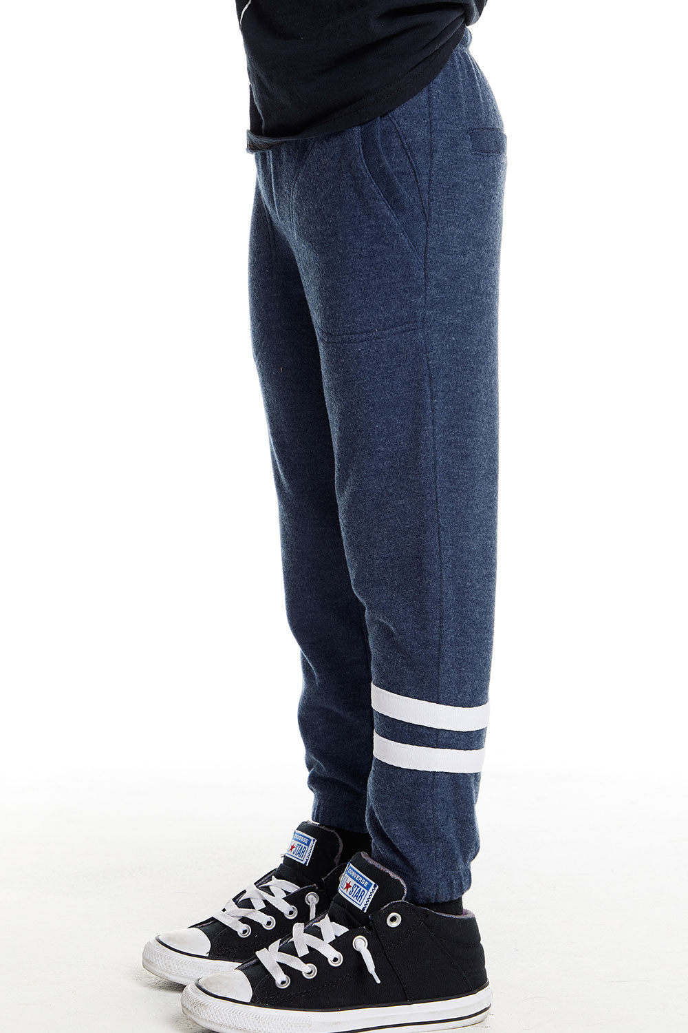 Boys Love Knit Lounge Pant with Strappings