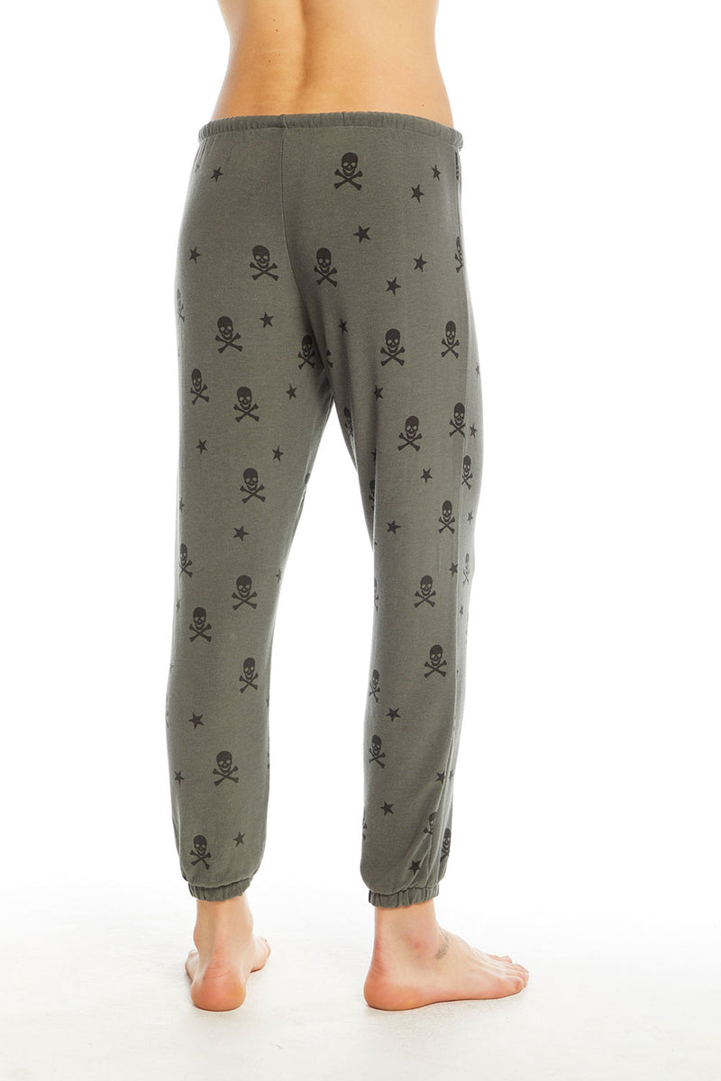 Stars & Skulls Pant, WOMENS, chaserbrand.com,chaser clothing,chaser apparel,chaser los angeles