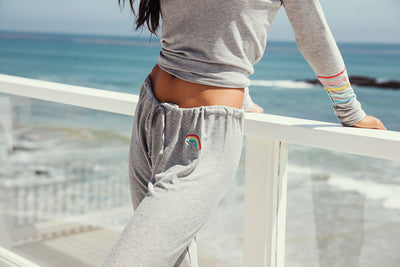RAINBOW BOLT PANTS, WOMENS, chaserbrand.com,chaser clothing,chaser apparel,chaser los angeles