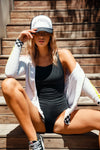 Swim Racerback One-Piece, WOMENS, chaserbrand.com,chaser clothing,chaser apparel,chaser los angeles