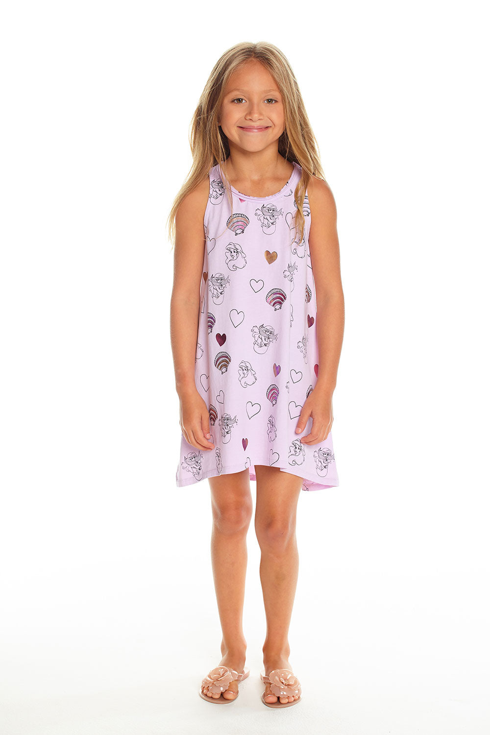 Disney's The Little Mermaid - Mermaid Hearts & Shells GIRLS chaserbrand4.myshopify.com