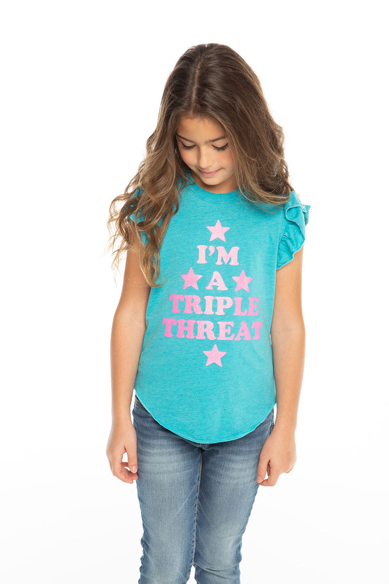 Triple Threat, Girls, chaserbrand.com,chaser clothing,chaser apparel,chaser los angeles