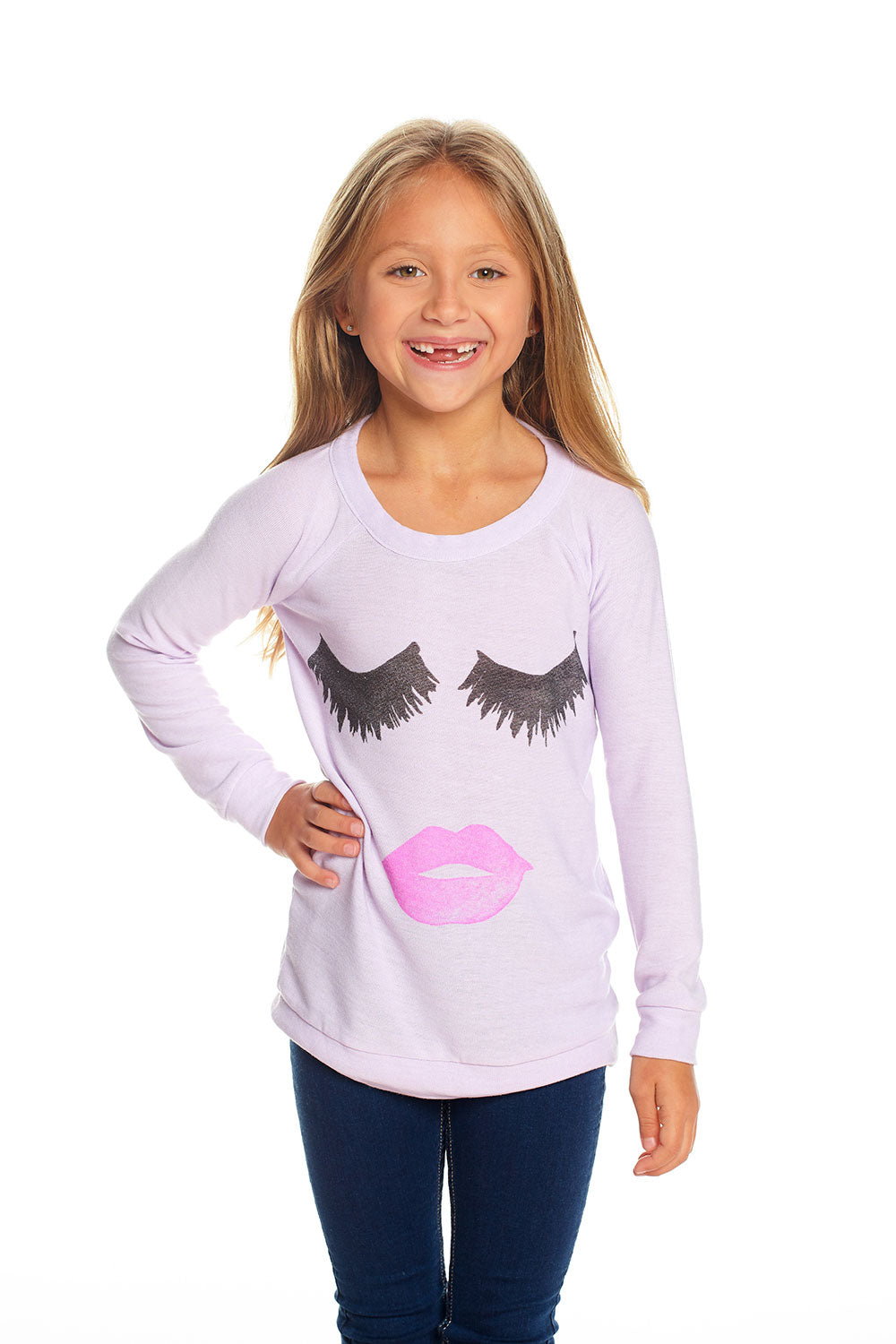 Lips & Lashes, GIRLS, chaserbrand.com,chaser clothing,chaser apparel,chaser los angeles