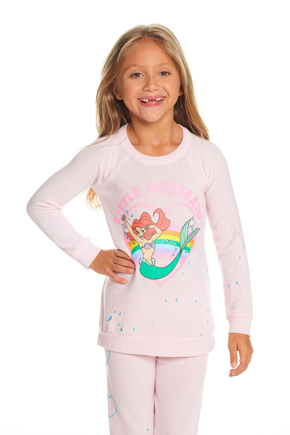 Disney's The Little Mermaid - Little Mermaid Heart GIRLS chaserbrand4.myshopify.com