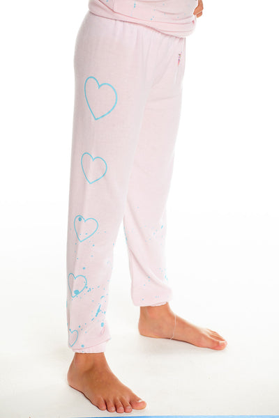 Disney's The Little Mermaid - Little Mermaid Heart Pants, GIRLS, chaserbrand.com,chaser clothing,chaser apparel,chaser los angeles
