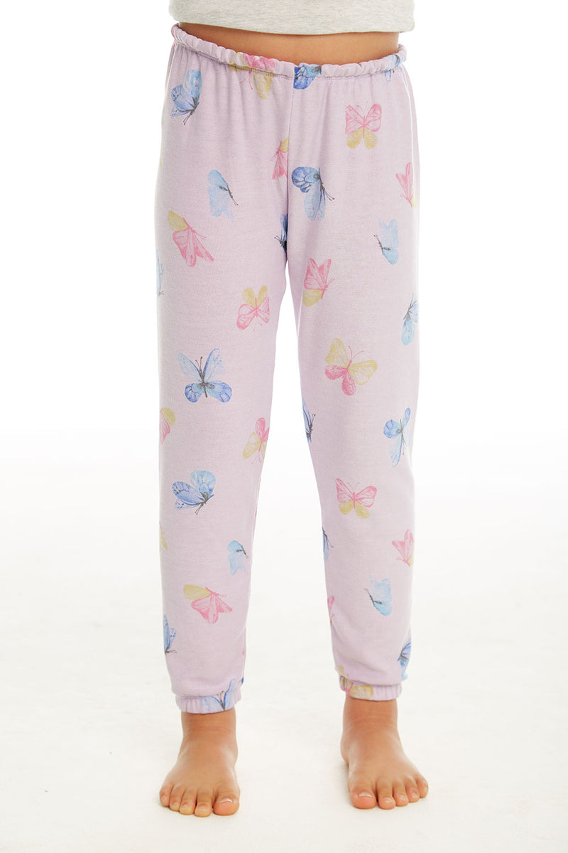 Watercolor Butterflies Pant GIRLS chaserbrand4.myshopify.com