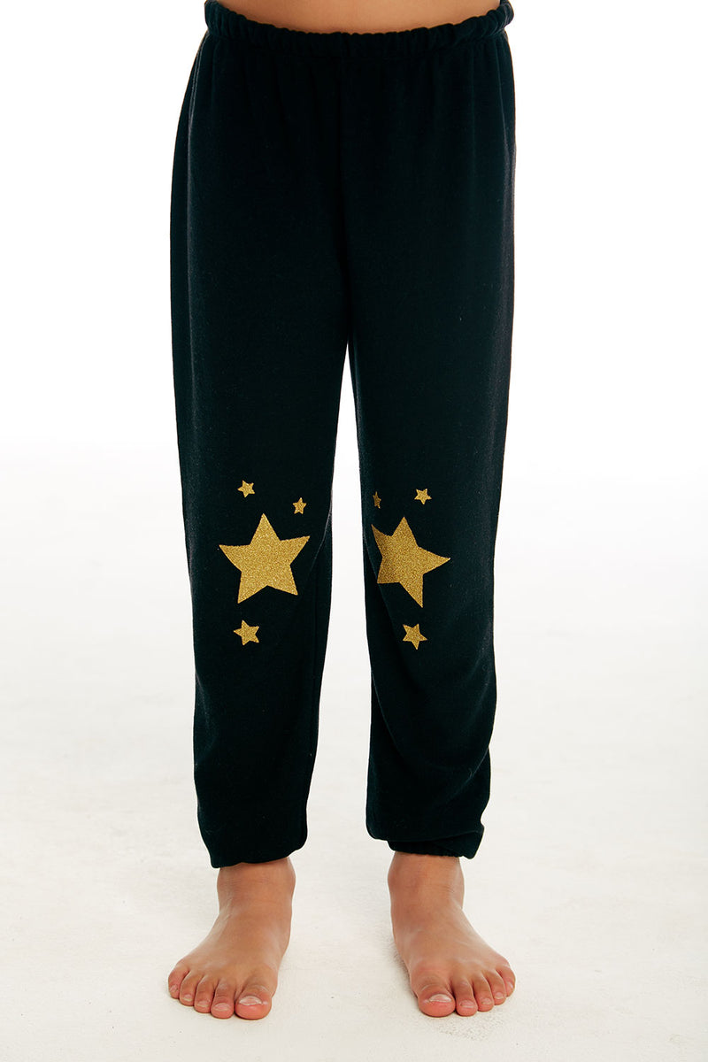Golden Stars Pant, GIRLS, chaserbrand.com,chaser clothing,chaser apparel,chaser los angeles
