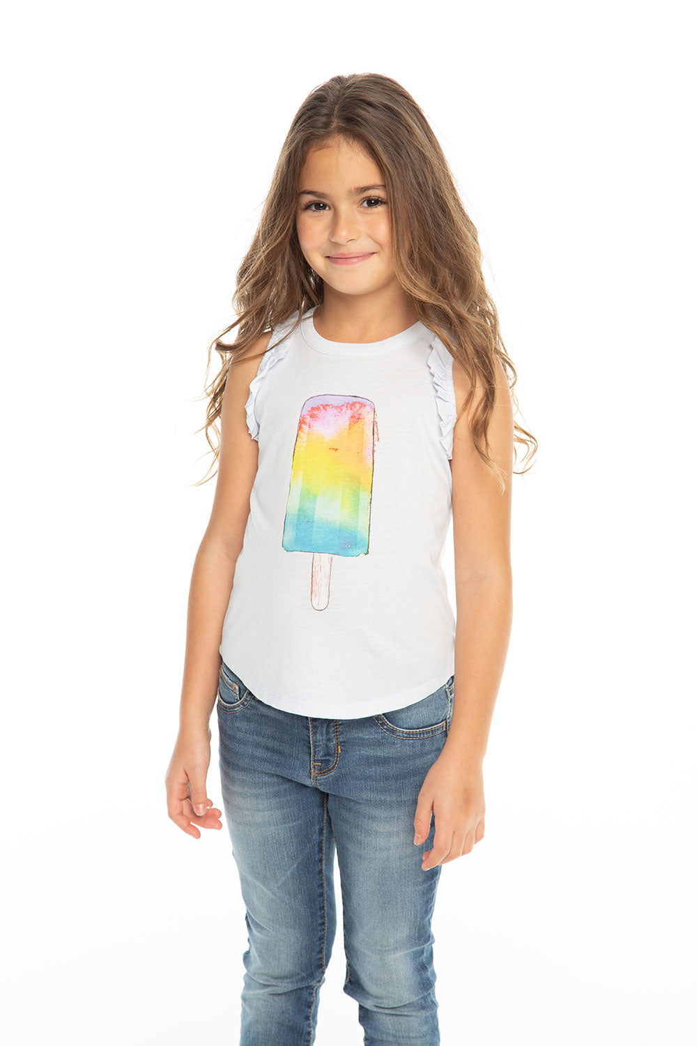 Rainbow Popsicle, Girls, chaserbrand.com,chaser clothing,chaser apparel,chaser los angeles