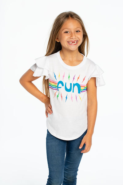 Rainbow Fun, GIRLS, chaserbrand.com,chaser clothing,chaser apparel,chaser los angeles