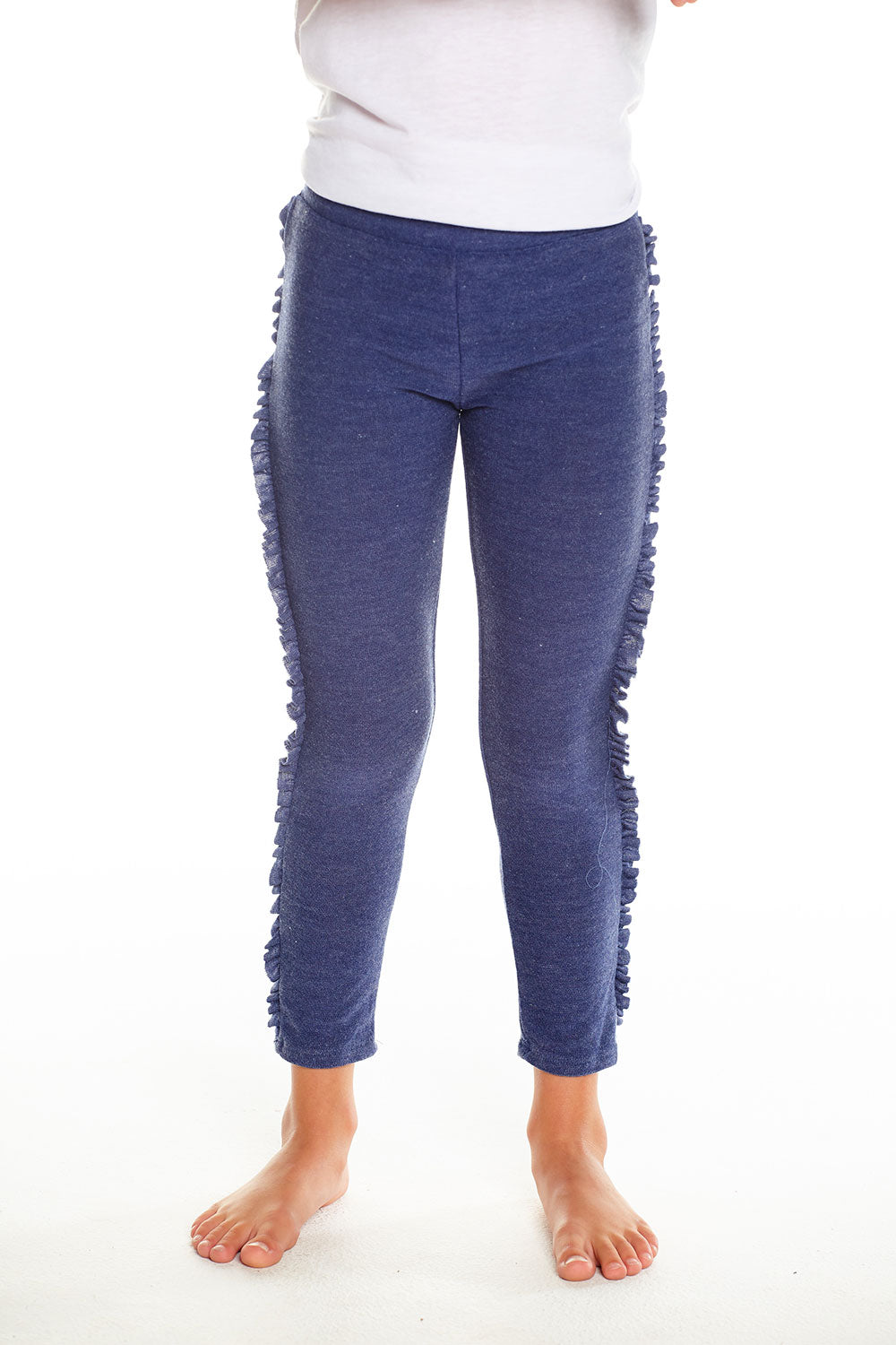 Cozy Knit Ruffle Side Leggings, GIRLS, chaserbrand.com,chaser clothing,chaser apparel,chaser los angeles