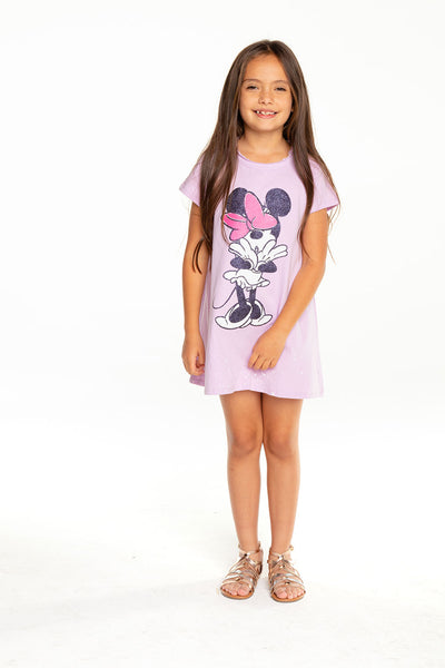 Disney's Minnie Mouse - Glitter Bow Dress GIRLS chaserbrand4.myshopify.com