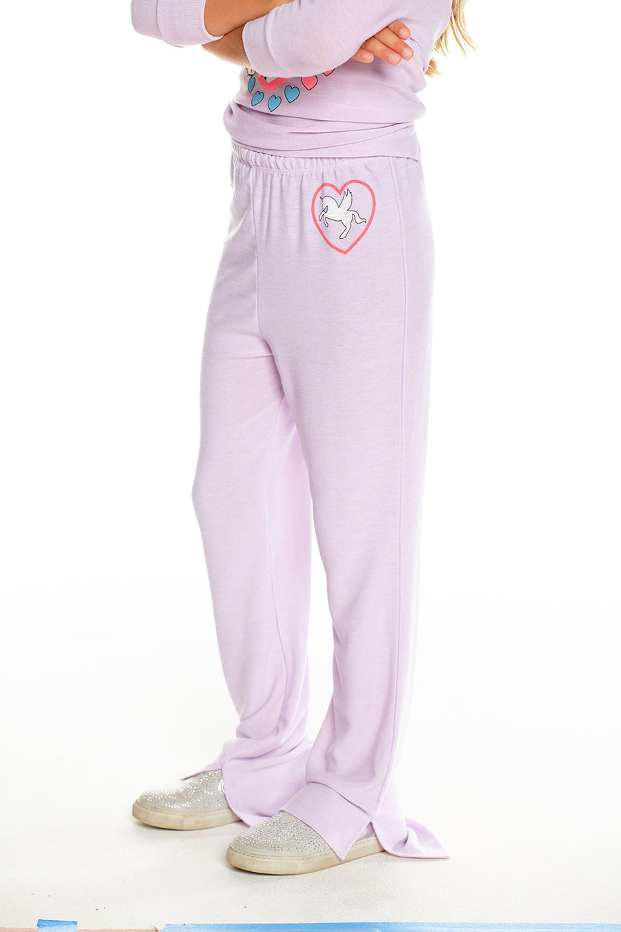 I Love Unicorns Pant, GIRLS, chaserbrand.com,chaser clothing,chaser apparel,chaser los angeles