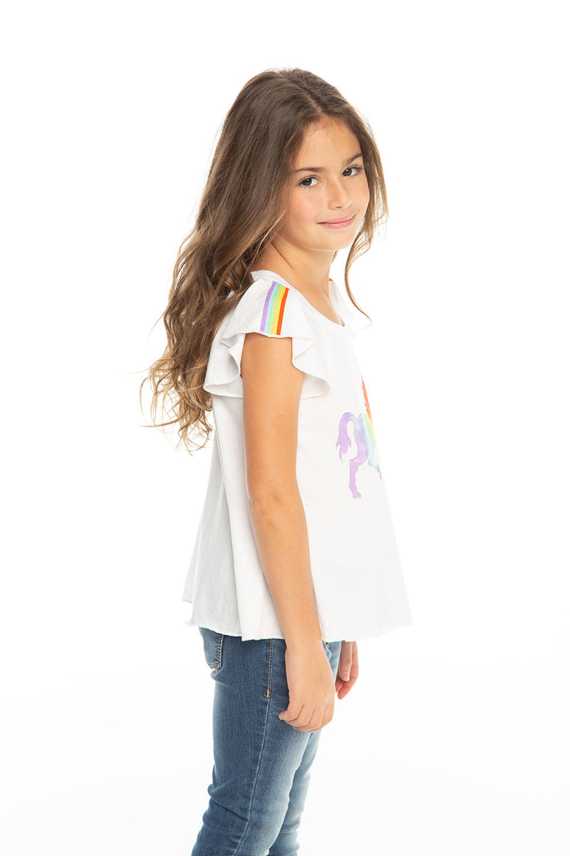 Rainbow Unicorn, Girls, chaserbrand.com,chaser clothing,chaser apparel,chaser los angeles
