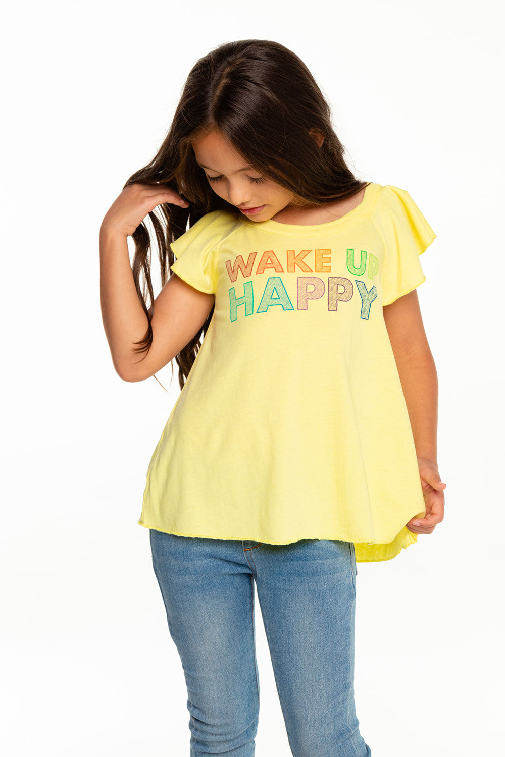 Wake Up Happy GIRLS chaserbrand4.myshopify.com