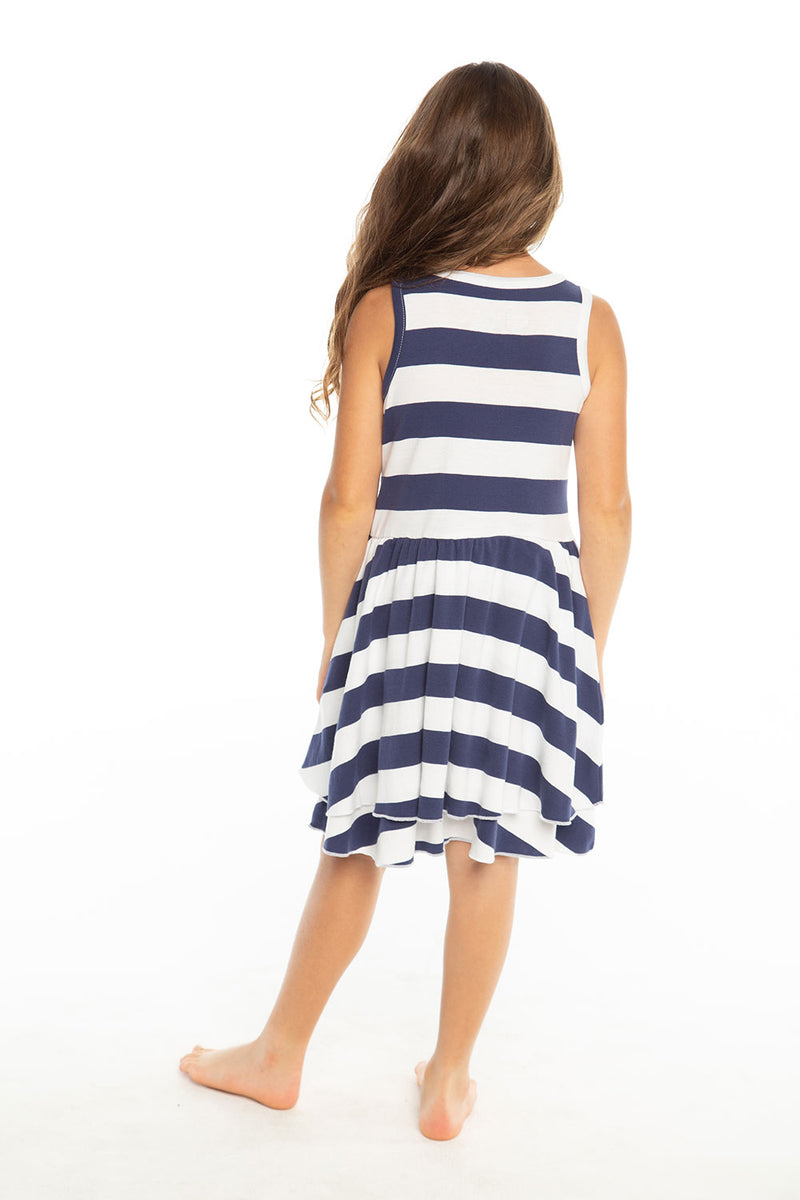 Baby Rib Tiered Tank Dress Girls chaserbrand4.myshopify.com