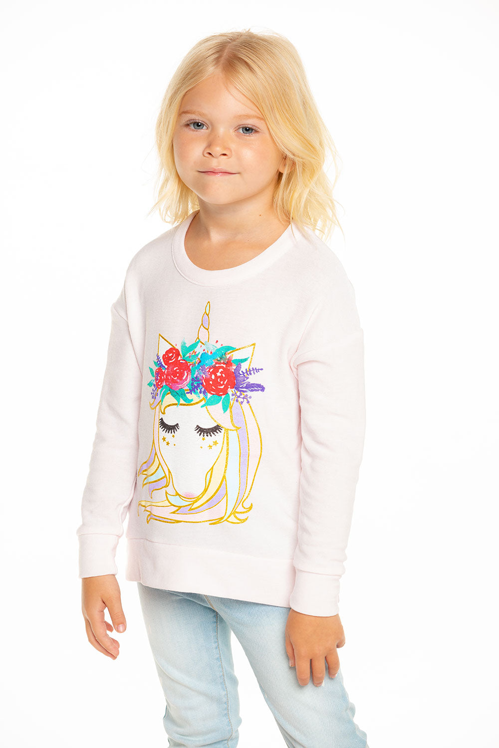 Unicorn Princess Pullover Sweatshirt