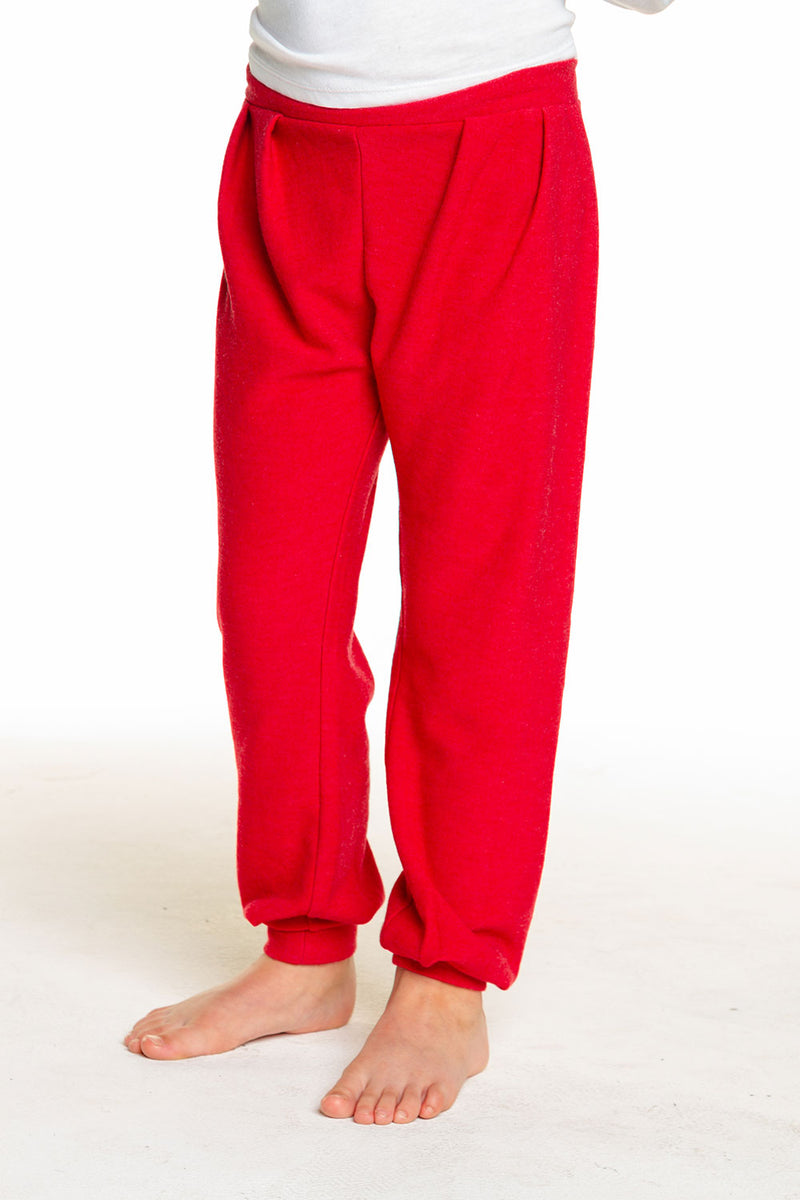Girls Cozy Knit Slouchy Pleated Sweatpant GIRLS chaserbrand4.myshopify.com