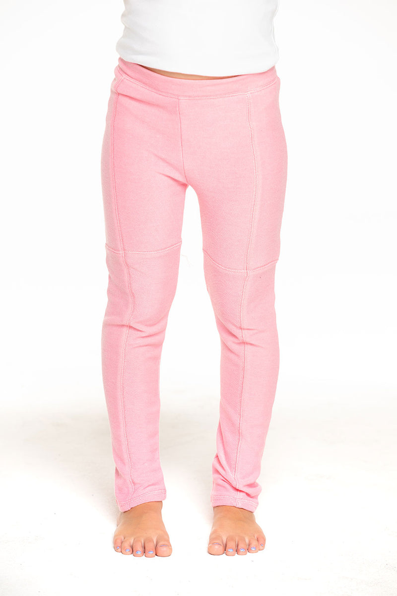 Cozy Knit Seamed Panel Legging in Carnation Pink [product_type] chaserbrand4.myshopify.com