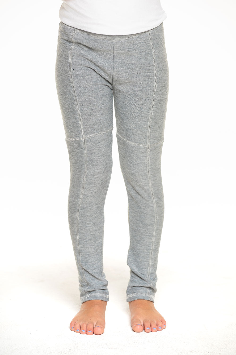 Cozy Knit Seamed Panel Legging in Heather Grey [product_type] chaserbrand4.myshopify.com