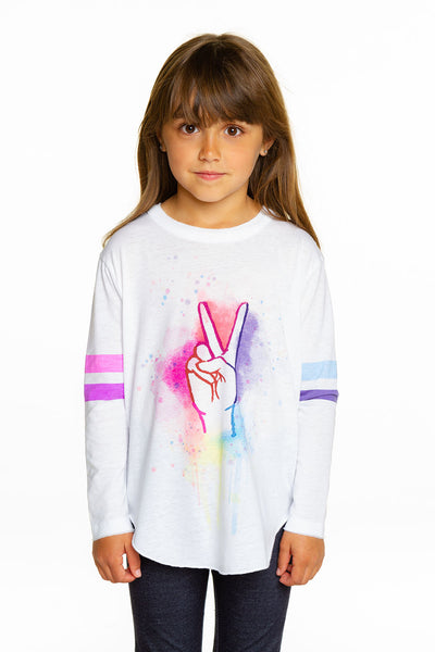 Peace Fingers GIRLS chaserbrand4.myshopify.com