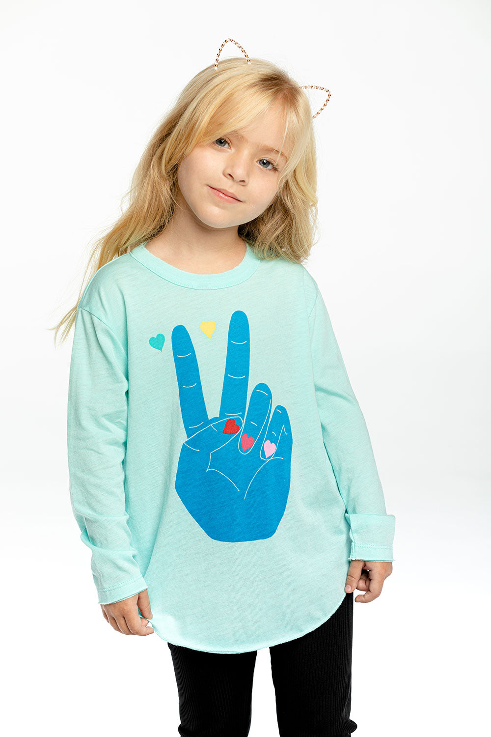 Peace And Hearts GIRLS chaserbrand4.myshopify.com