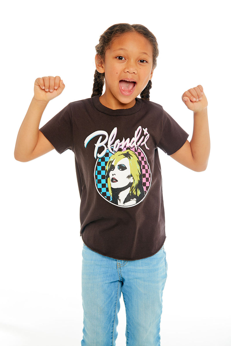Blondie - Checkered Blondie, GIRLS, chaserbrand.com,chaser clothing,chaser apparel,chaser los angeles