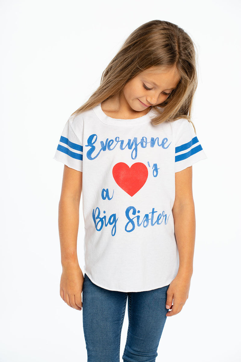 Love A Big Sister, GIRLS, chaserbrand.com,chaser clothing,chaser apparel,chaser los angeles