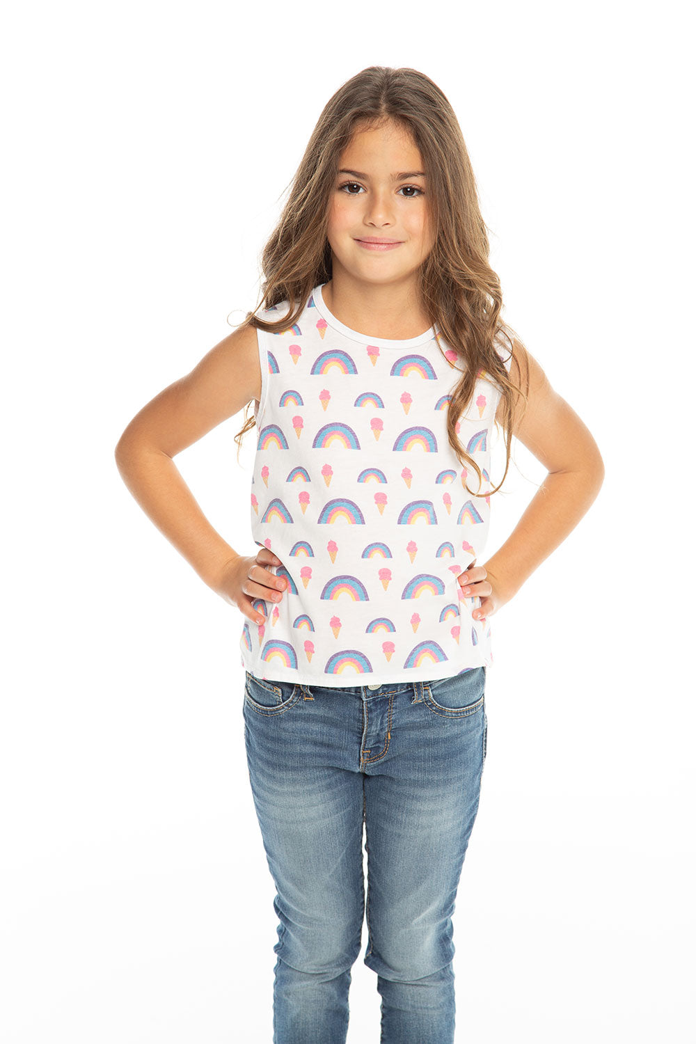 632606b9b Rainbow Ice Cream, Girls, chaserbrand.com,chaser clothing,chaser apparel,