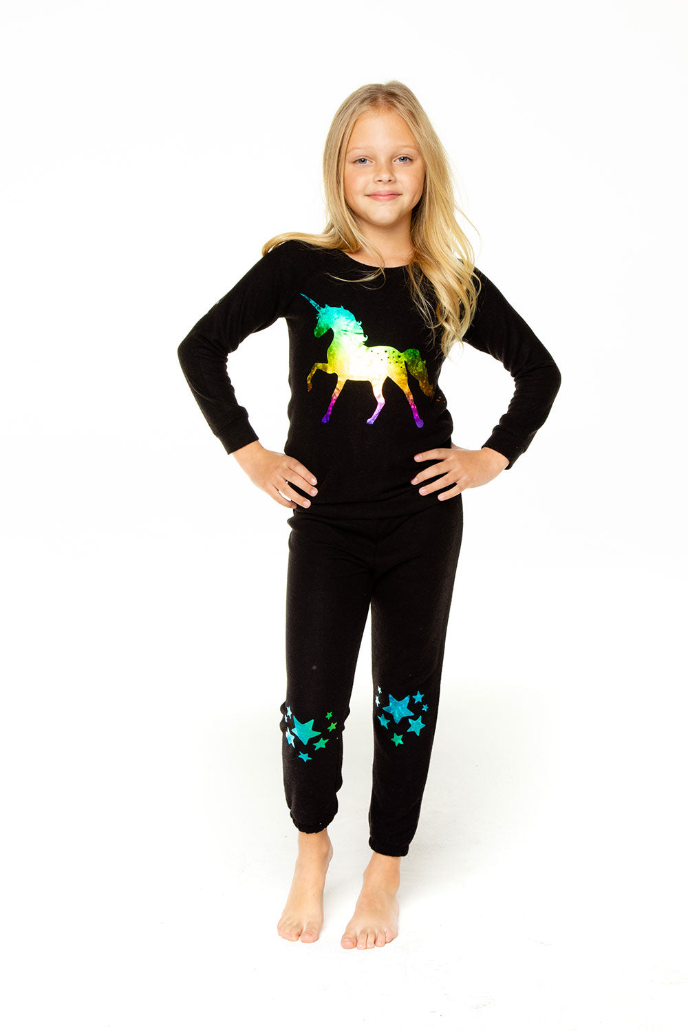 Unicorn Star Pants GIRLS chaserbrand4.myshopify.com